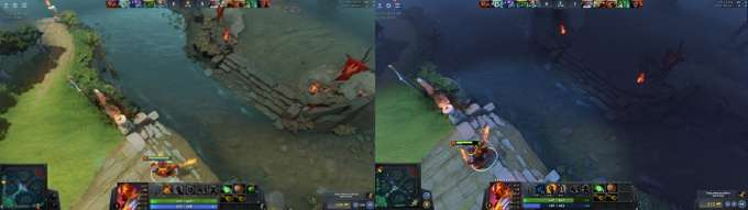 Day and Night Vision Dota 2