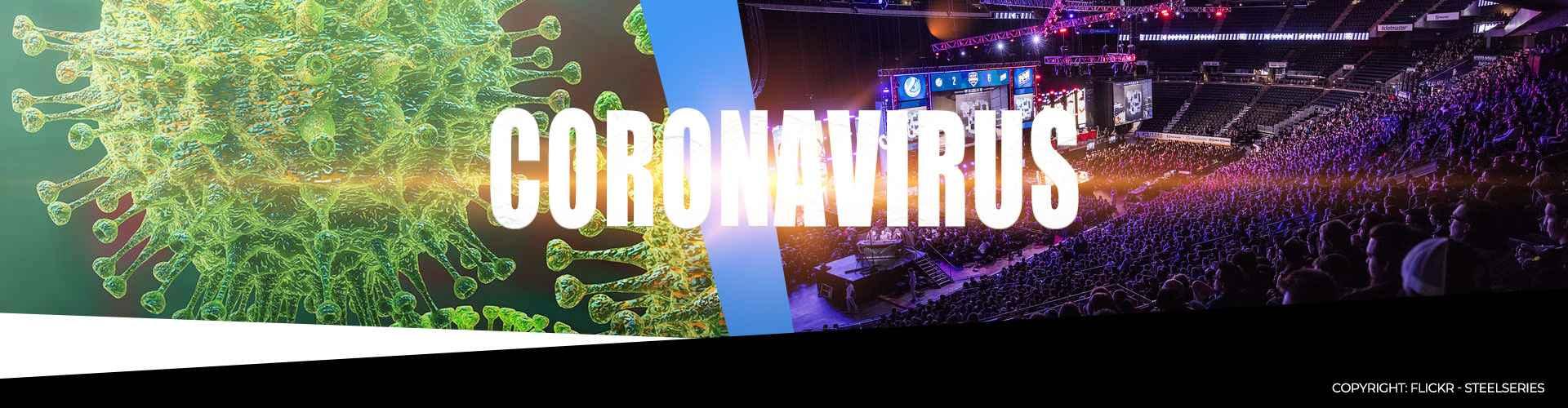 Coronaviruset COVID-19 stoppar flera stora e-sportsturneringar.