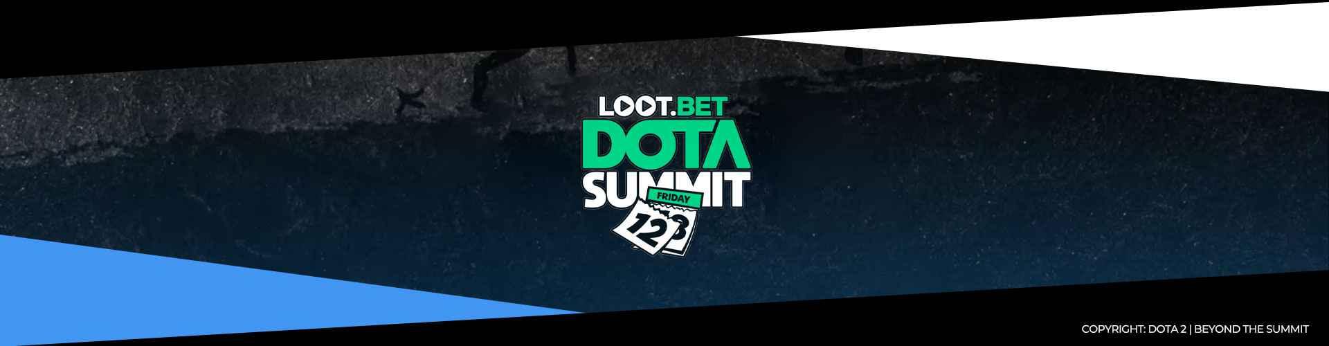 Eventsida för LOOT.BET Dota Summit 12.