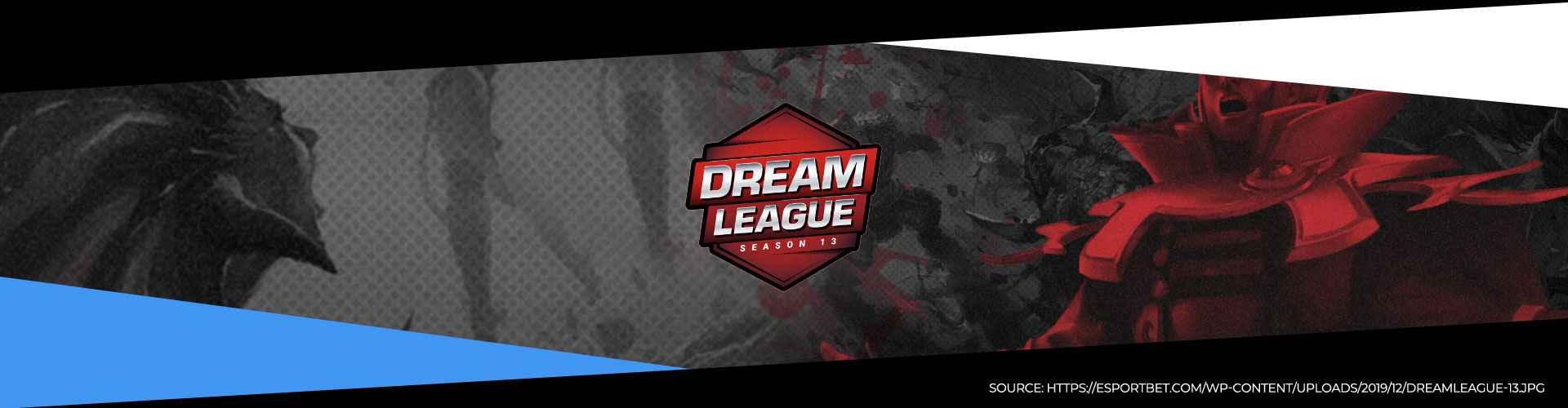 Eventsida för DreamLeague säsong 13 med information om turneringen.