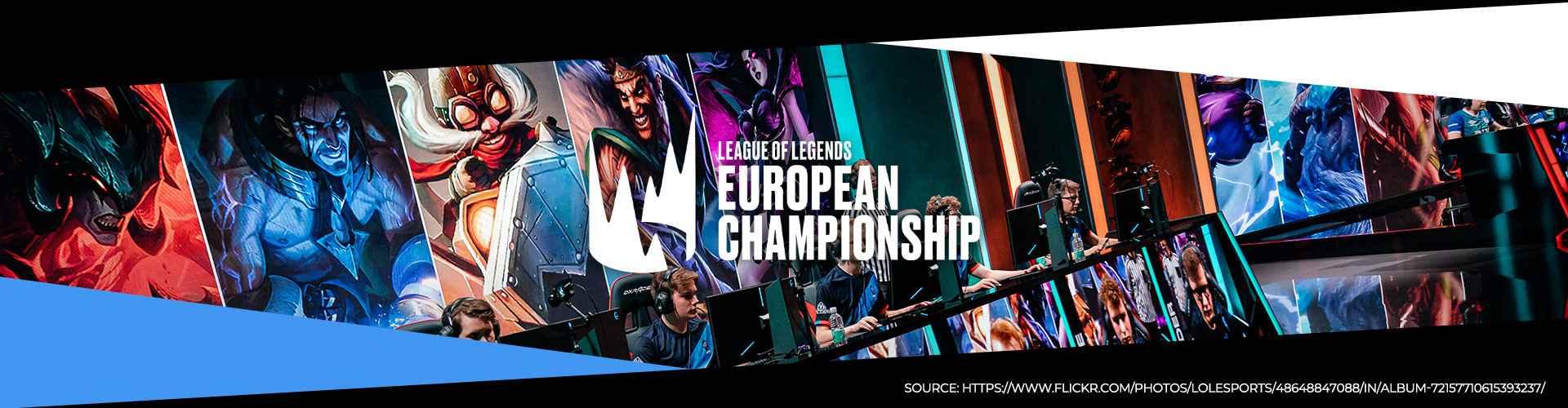 Eventsida för LEC Spring 2020 med information om turneringen.