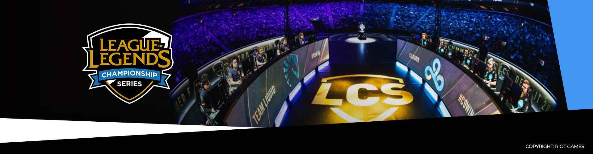 Eventsida för LCS 2020 och dess vårsäsong.
