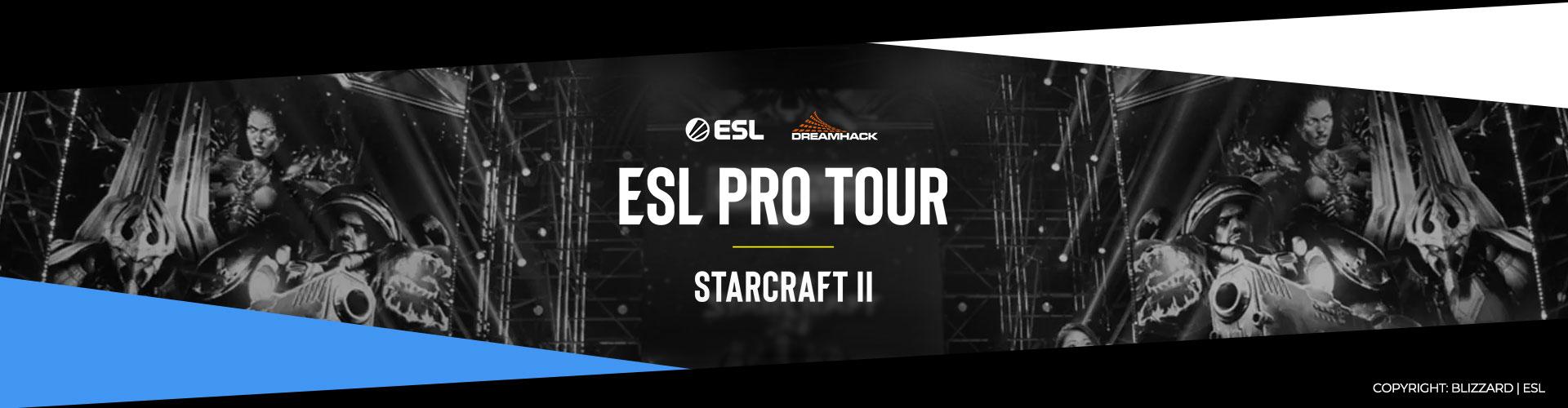 Eventsida för IEM Katowice 2020 för Starcraft 2.