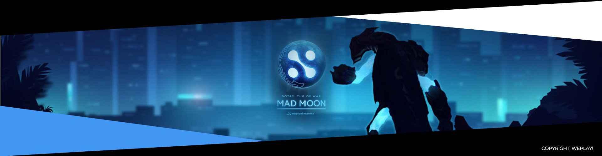 Eventsida för WePlay! Tug of War: Mad Moon.