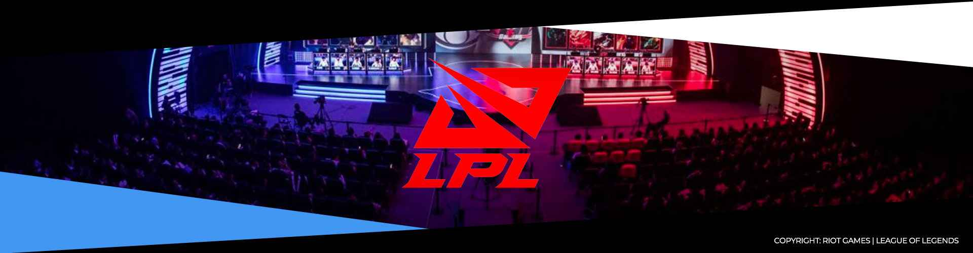 Eventsida för sommarsäsongen av LPL, den kinesiska LoL-ligan.