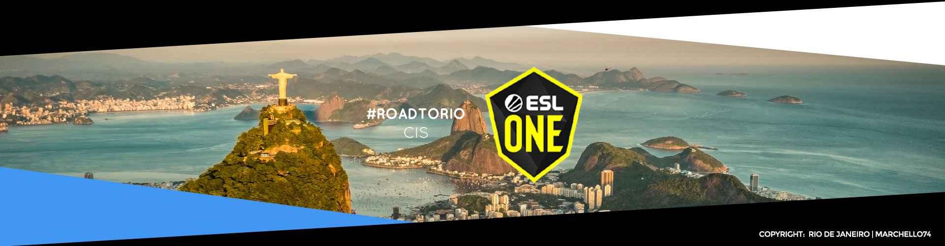 Eventsida för CIS-regionens ESL One: Road to Rio