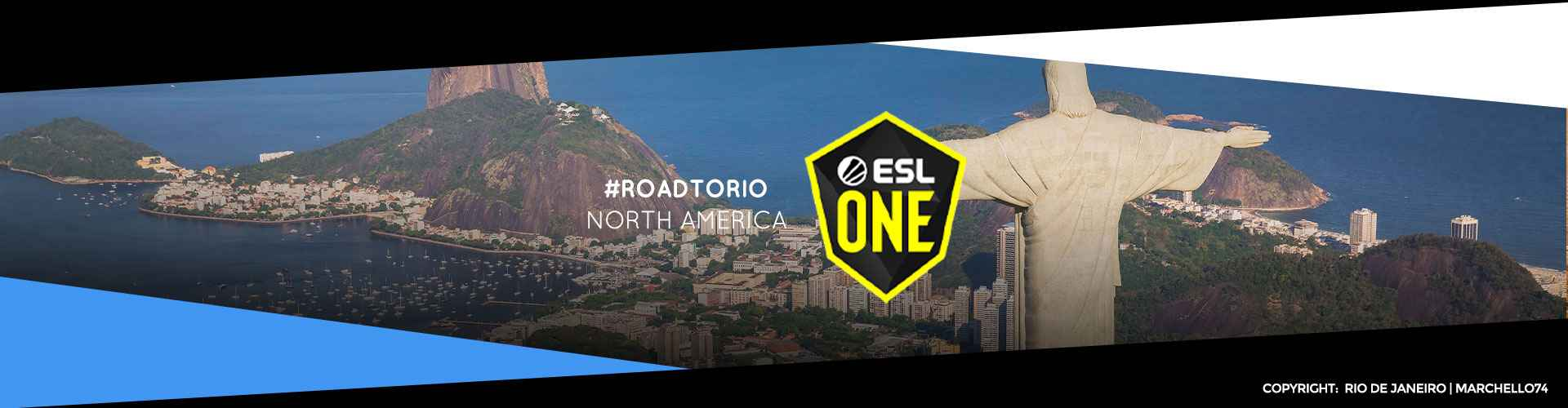 Eventsida för nordamerikanska ESL One: Road to Rio