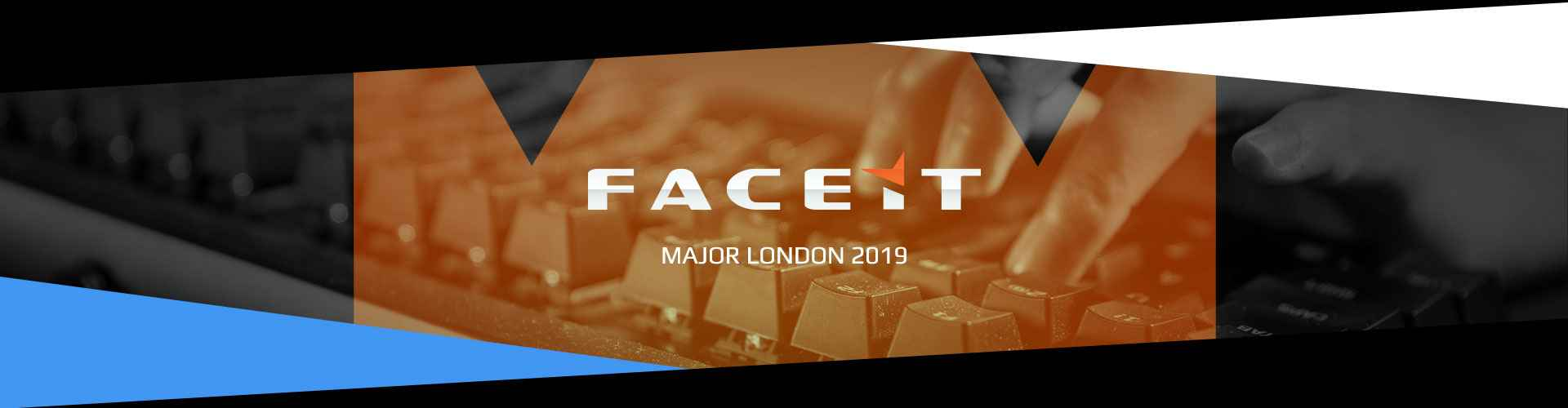 Eventsida för FACEIT Major London arrangerad av Valve