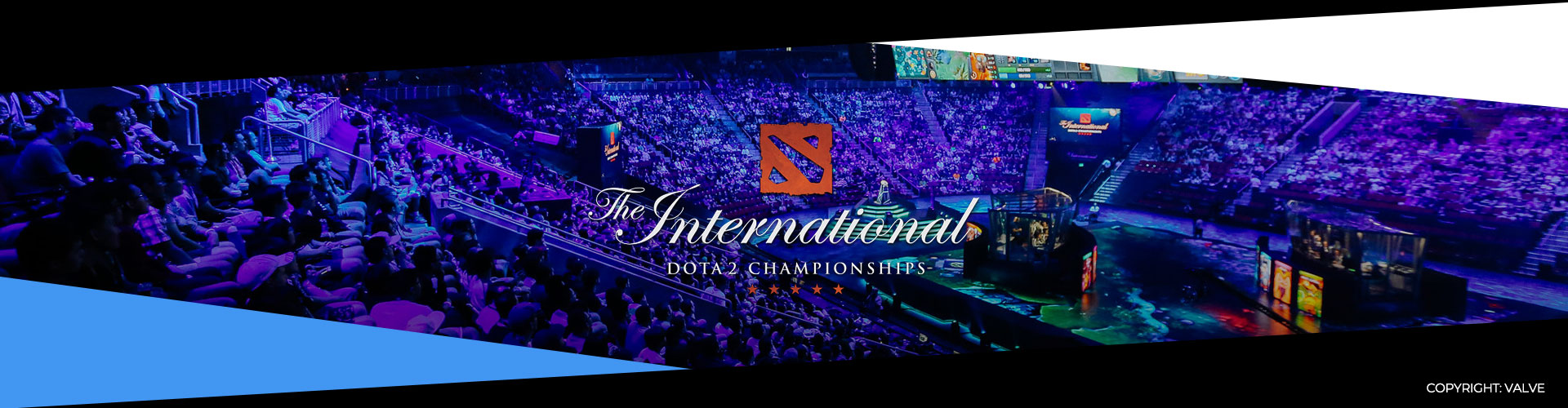 Eventsida om The International 9. Lagen, prispotten och formatet.