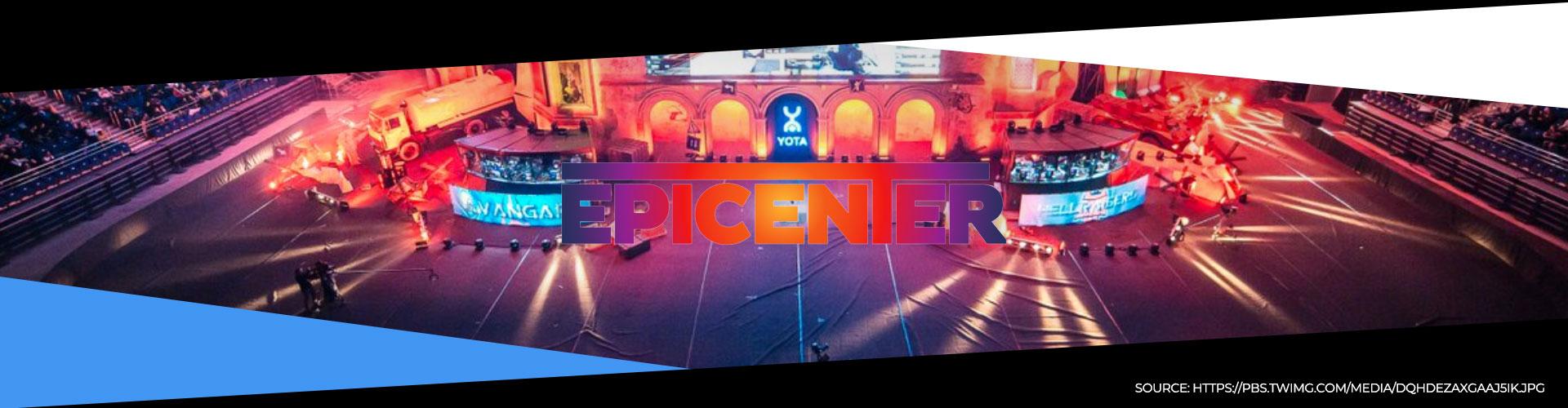Denna eventsida för EPICENTER 2019 innehåller