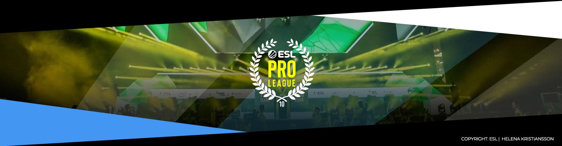 Denna eventsida för ESL Pro League säsong 10 innehåller information om lagen, prispotten och formatet.