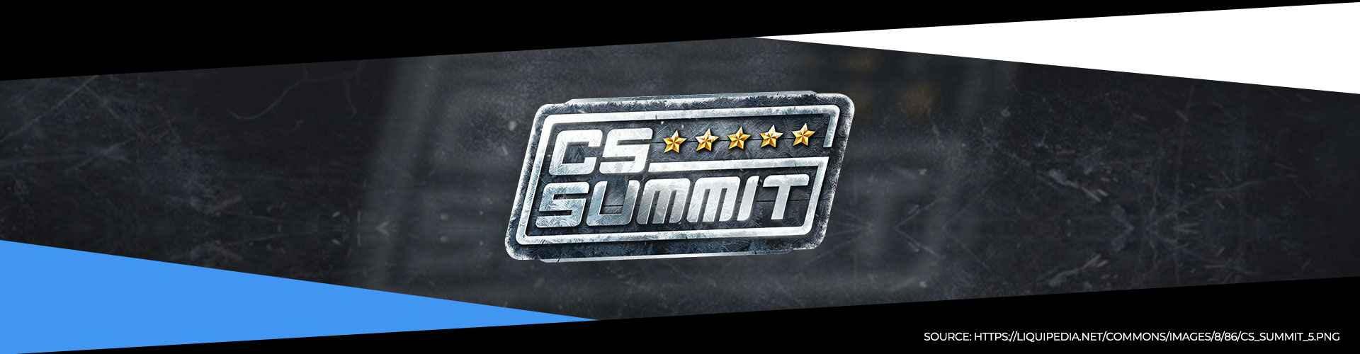 Eventsida för CS_Summit 5 som avgörs årligen i Los Angeles.