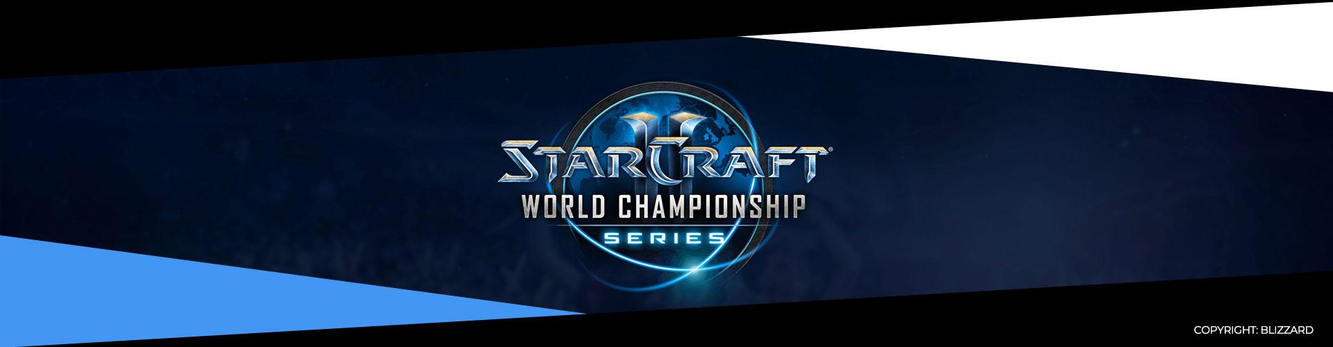 Eventsida för WCS Global Finals i Starcraft 2.