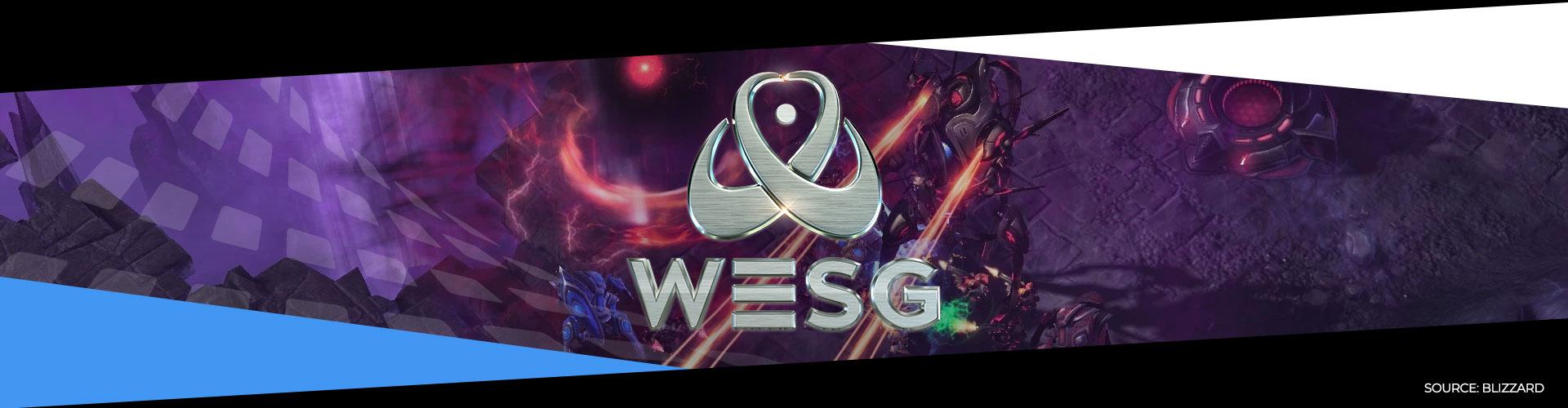 Eventsida om WESG 2018 Starcraft 2 och hur turneringen utspelade sig.