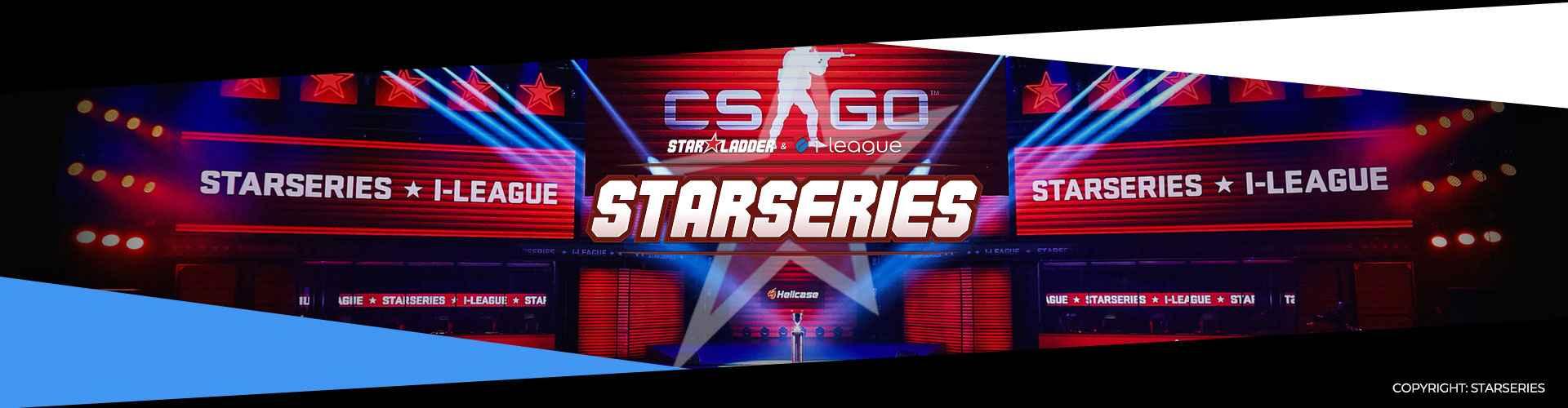Eventsida för StarSeries 7, som spelas i Shanghai.