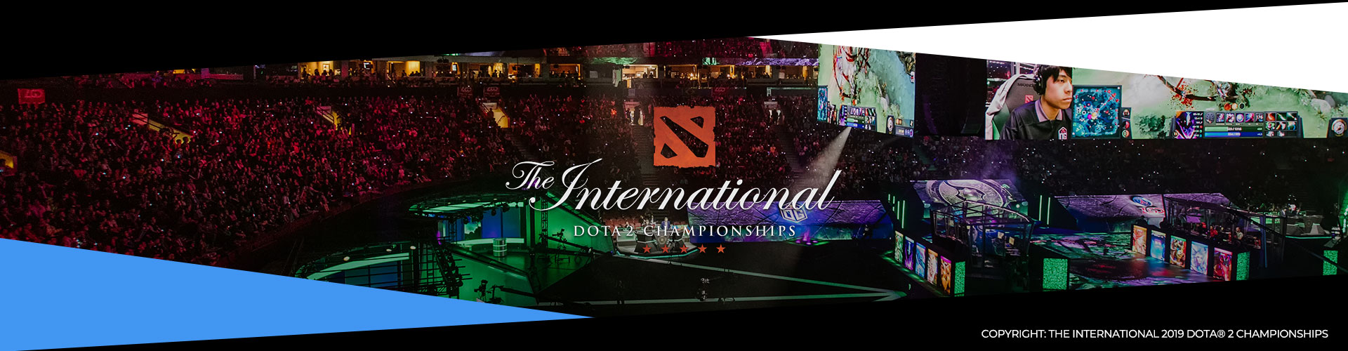 Eventsida om The International 8. Lagen, prispotten och formatet.